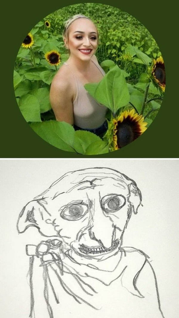 Artist Turns People Into Hilarious Characters (30 pics)
