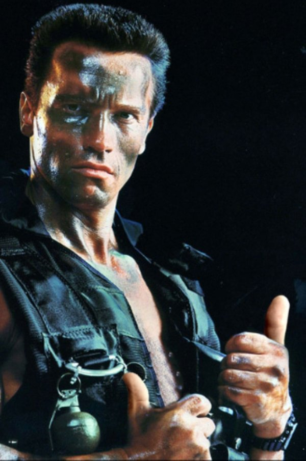 Guns In Movies Replaced With Thumbs Up (33 pics)