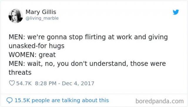 Women Tweet About Men (50 pics)