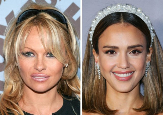 Same Age Celebrities Of The Past And Present Days (20 pics)