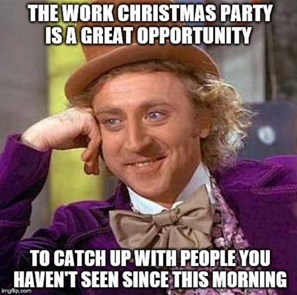 Office Holiday Party Memes (26 pics)