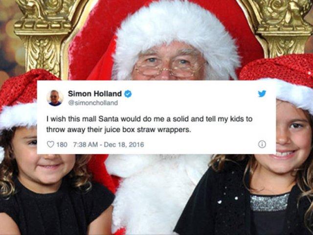 Funny Tweets About Santa (29 pics)