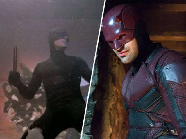 Superheroes In Their First Movies And Now (18 pics)