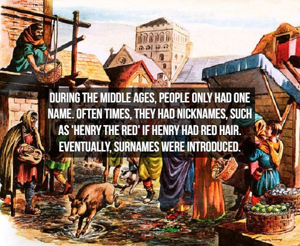 Interesting Middle Ages Facts (17 pics)