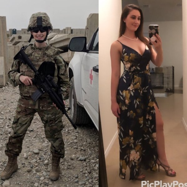 Girls With And Without Uniforms (33 pics)