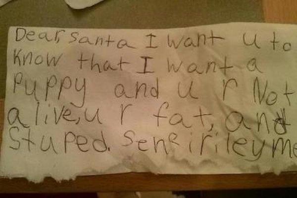 Kids' Christmas Lists (23 pics)