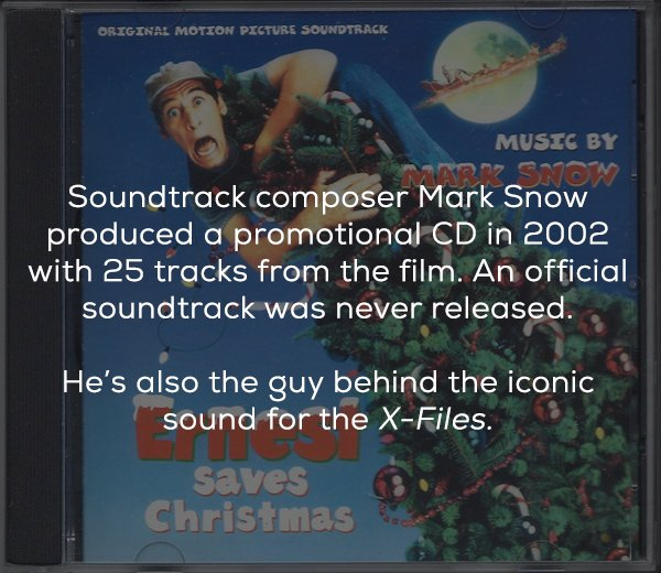 Facts About The Movie 'Ernest Saves Christmas' (16 pics)