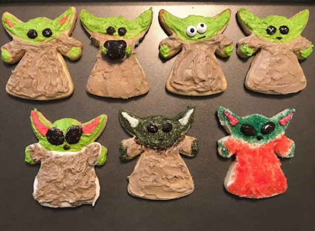 Twitter Reacts On The Newest Baby Yoda Cookies (19 pics)