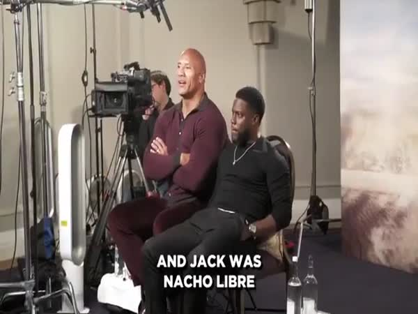 Dwayne Johnson Pitches New Superhero For Kevin Hart