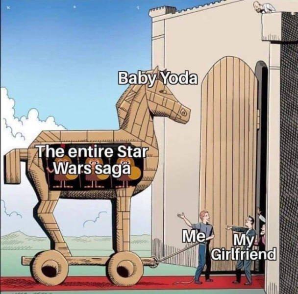 Baby Yoda Memes (33 pics)