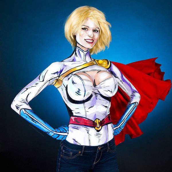 Amazing Body Paintings By Kay Pike (25 pics)