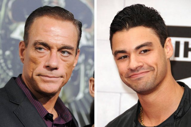 Famous Fathers And Their Sons (16 pics)