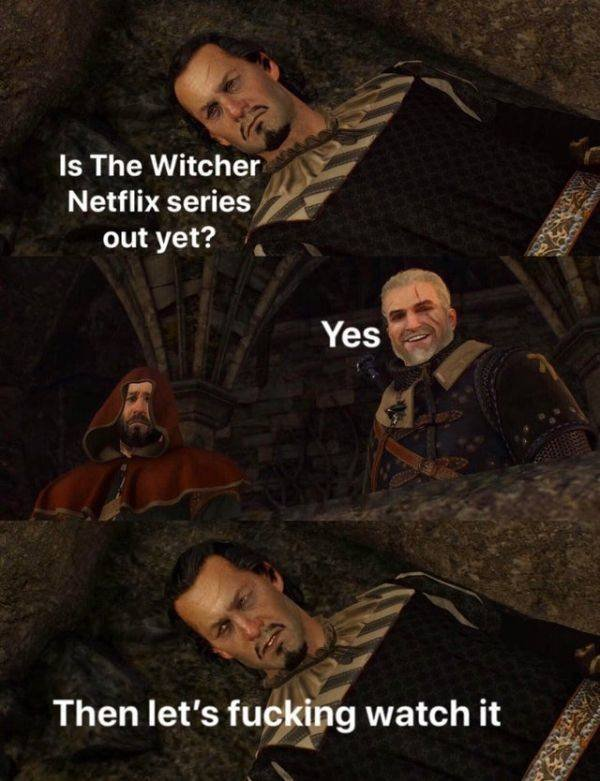"""The Witcher"" Memes (31 pics)"
