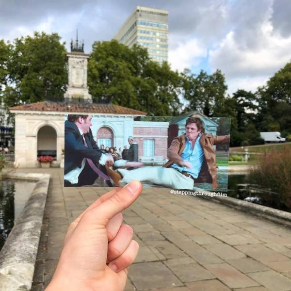 Thomas Duke Shows Off The Movie Scenes In Real Life Locations (21 pics)
