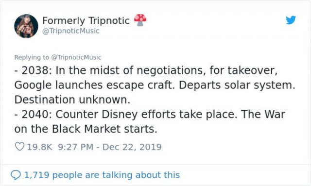 This Guy Wrote Disney's Timeline From 1995 - 2100 (18 pics)