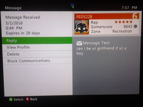 Funny Xbox Live Messages (30 pics)