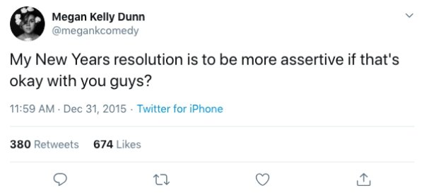 New Year's Resolution Tweets (19 pics)
