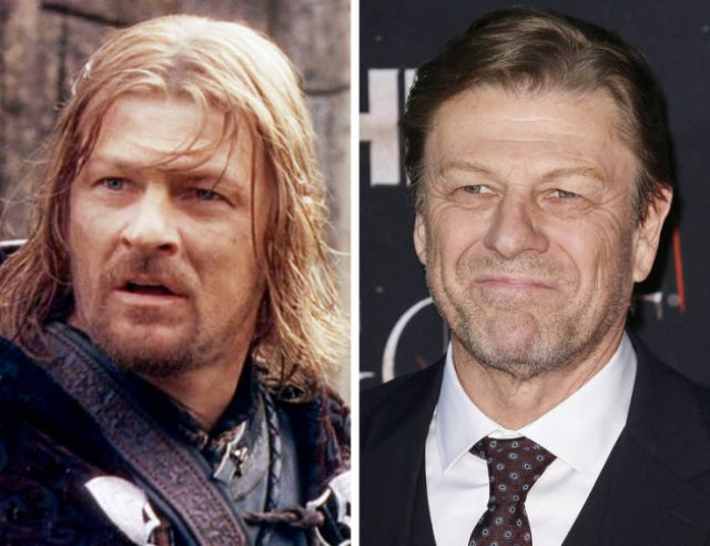 19-Year Challenge: Actors From 'The Lord Of The Rings' Then And Now (15 pics)