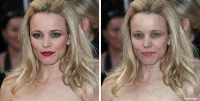 Brilliant App Filter That Removes Makeup (30 pics)