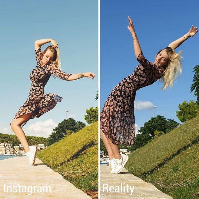 Kim Britt Shows The Truth Behind Perfect Photos (30 pics)