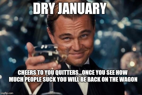 Dry January Memes (32 pics)