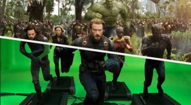 CGI: Behind-The-Scenes Shots (25 pics)