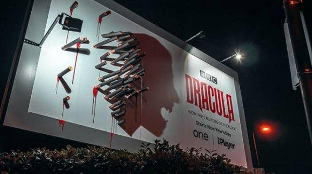 Creative BBC's 'Dracula' Billboard Ad (8 pics)
