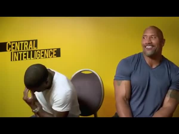 Dwayne Johnson Impersonating Kevin Hart