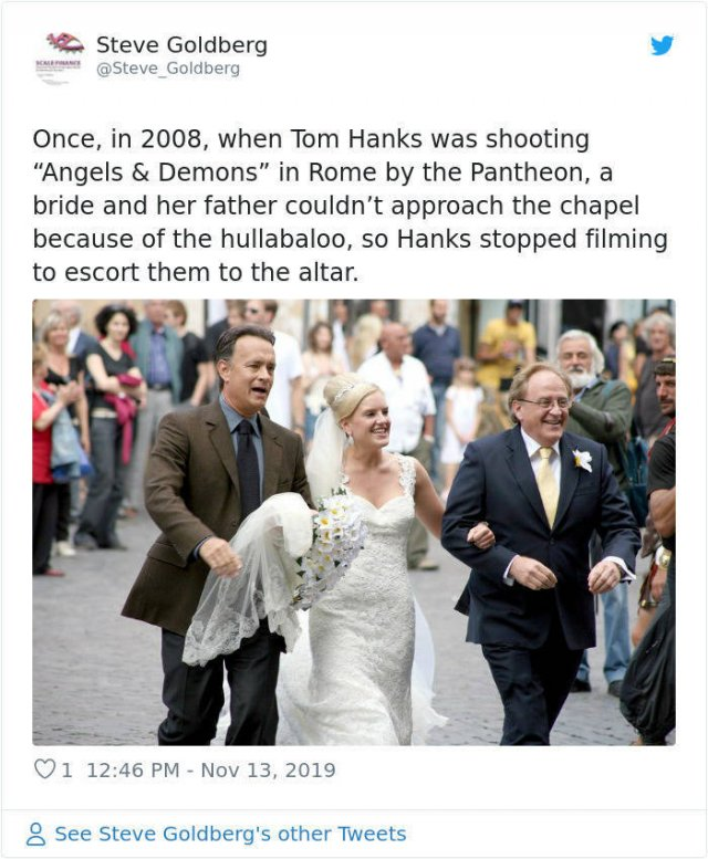 Why People Love Tom Hanks (28 pics)