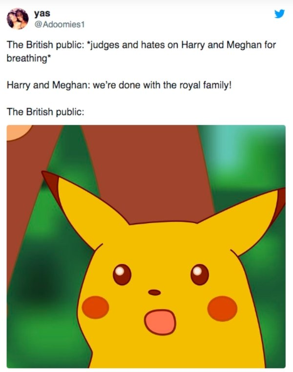 Memes About The Prince Harry And Meghan Markle Fallout (24 pics)