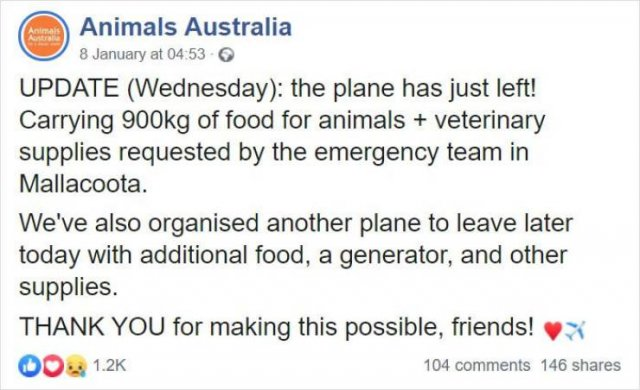 Internet Responds On Vegetable Campaign For Starving Australian Animals (19 pics)