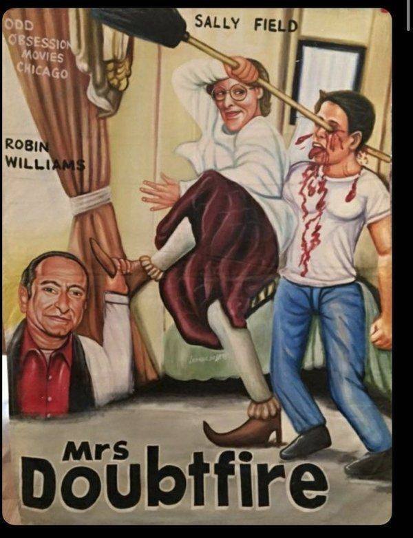 Hilarious African Bootleg Movie Posters (24 pics)