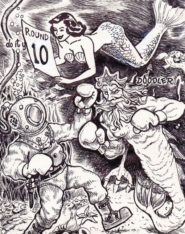 Doodle Challenge By David Jablow (36 pics)