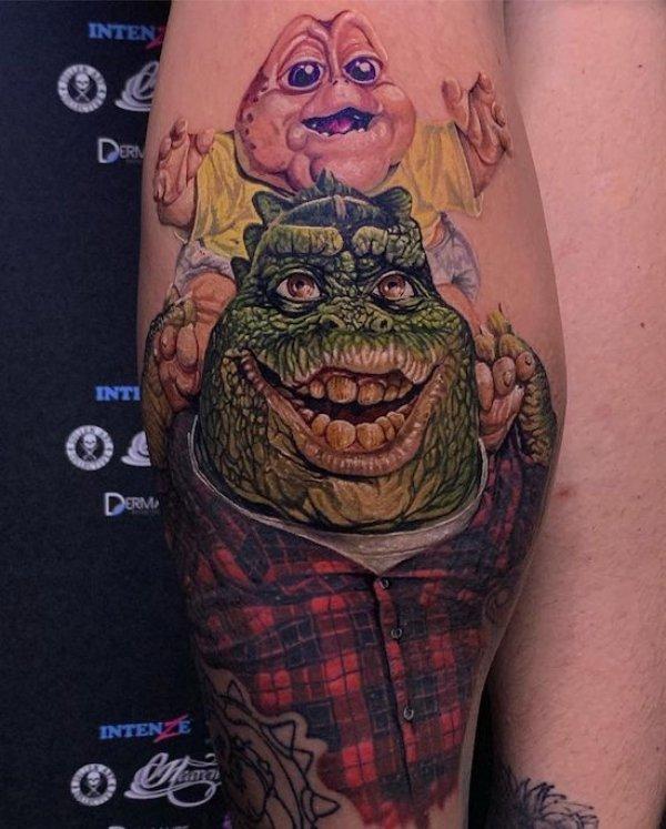 Amazing Tattoos (65 pics)