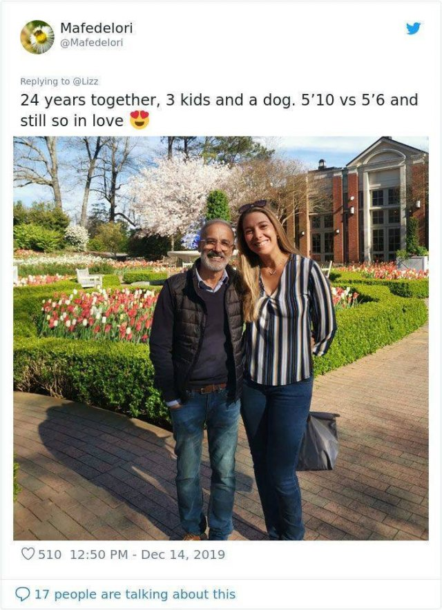 A Picture Of A Short Husband Went Viral (20 pics)
