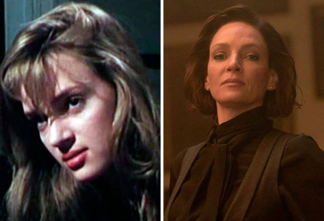 Actors And Actresses: First Vs. Latest Roles (50 pics)