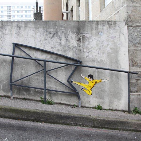 Street Art By OakOak (36 pics)