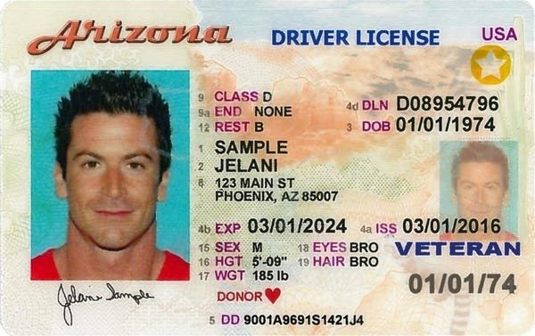 Driver's Licenses In Every U.S. State (51 pics)