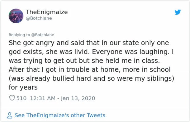 People Share Stories About The Worst Teacher In High School (61 pics)