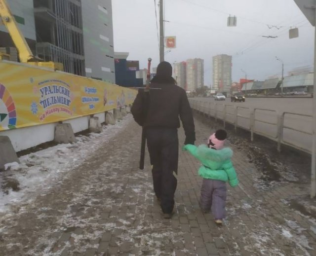 Dads Support Their Children (17 pics)