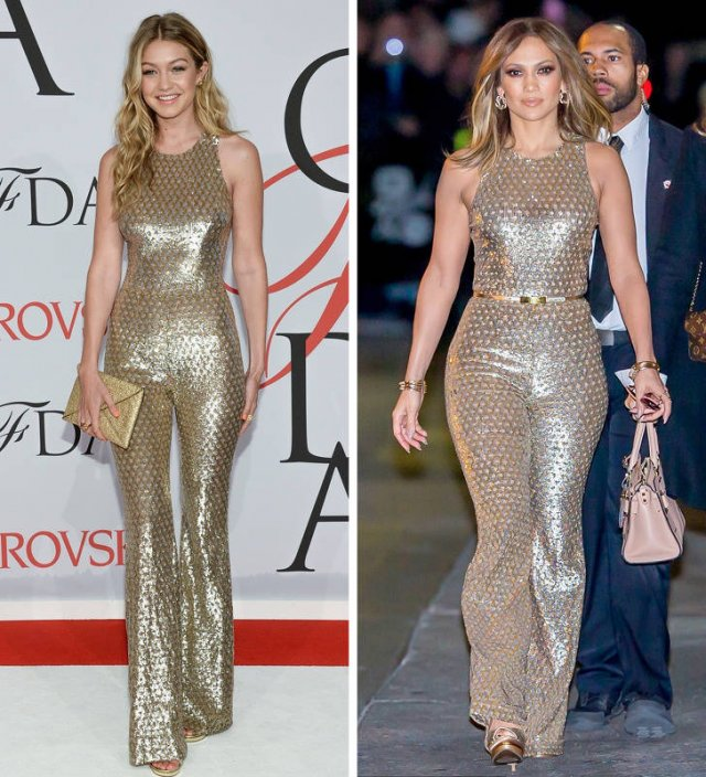 Different Celebrities In Same Clothes (15 pics)