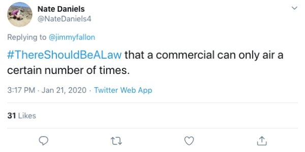 """""""There Should Be A Law"""" Tweets (21 pics)"""