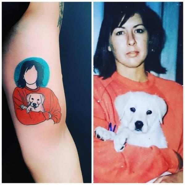 Hidden Tattoo Meanings (17 pics)