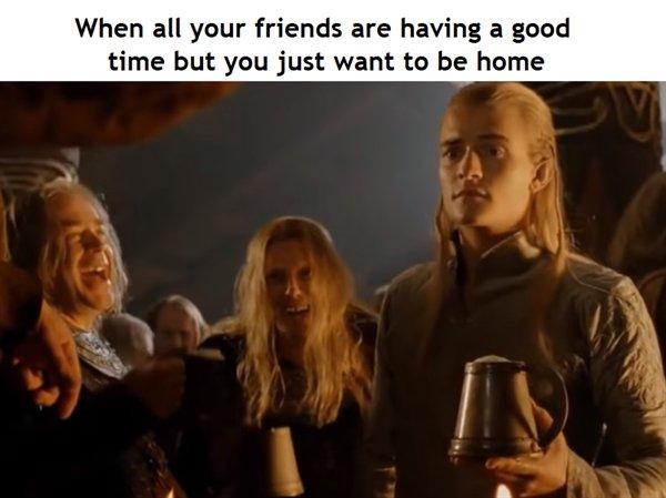 LOTR Memes (28 pics)