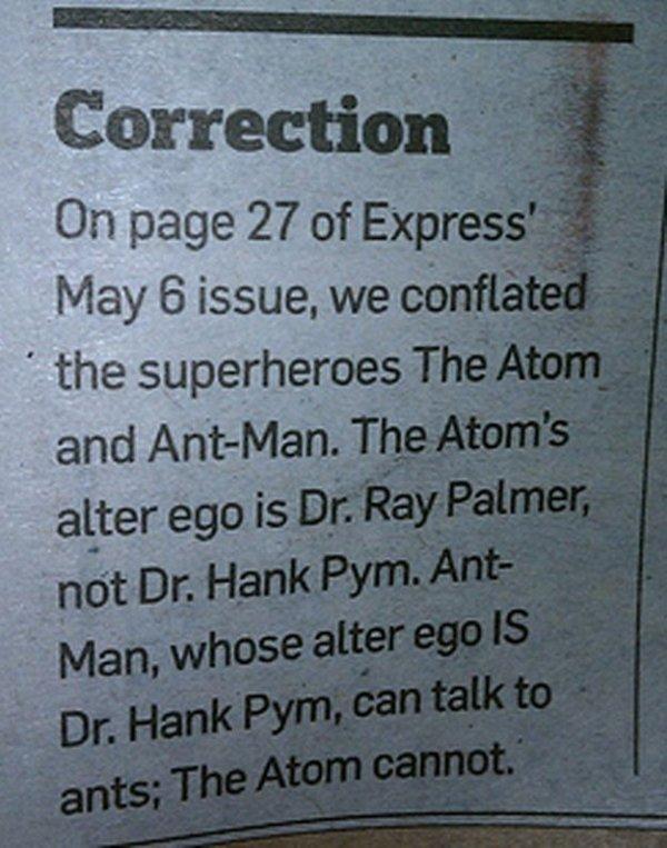 Headline Corrections (25 pics)