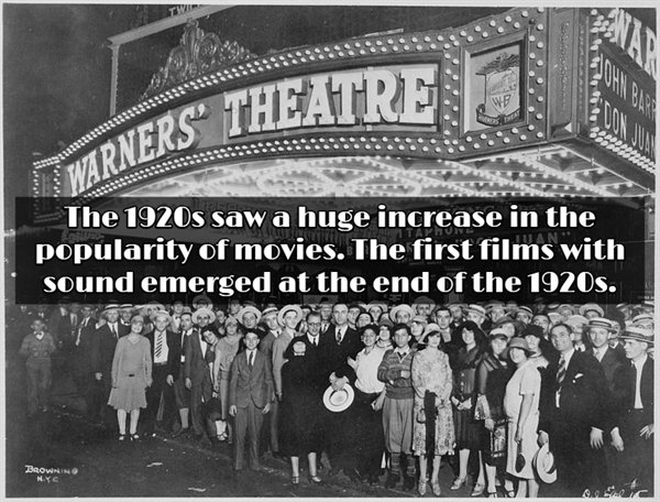 1920's: Interesting Facts (17 pics)