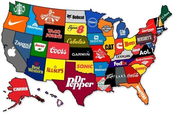 Interesting US Maps (26 pics)