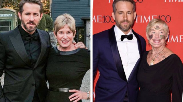 Celebrities With Their Parents (15 pics)