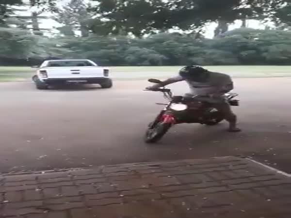 Wheelie Gone Wrong