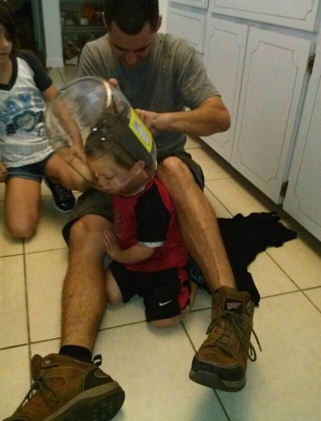 Children With Dads (14 pics)
